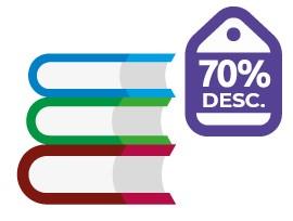Enviar libros por correio com descontos até um 70%