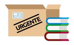 Envío urgente de libros por mensajería