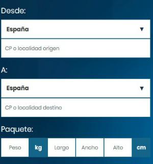 Como contratar um envio de encomenda com a Sendiroo Passo1